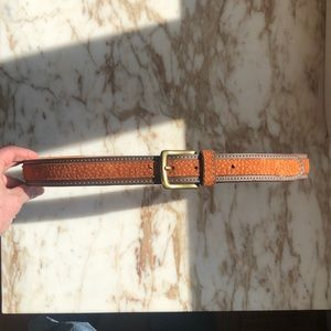 New Argentinian Carpincho leather belt